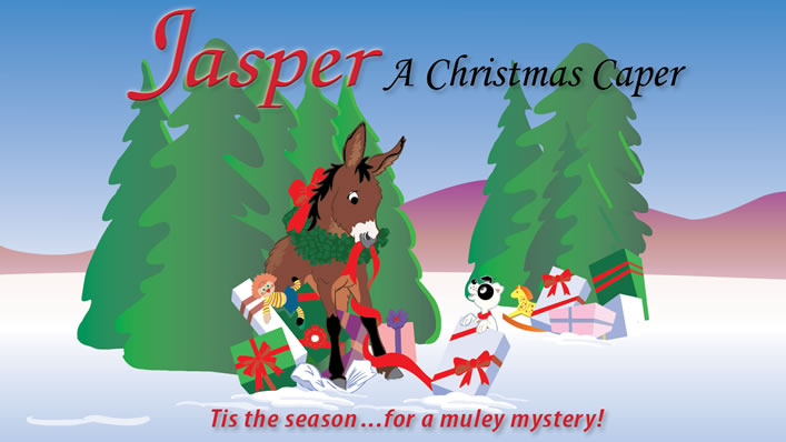Jasper the Mule Trailer - A Christmas Caper Cover