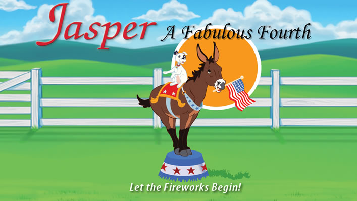 Jasper the Mule Trailer - A Fabulous Fourth Cover