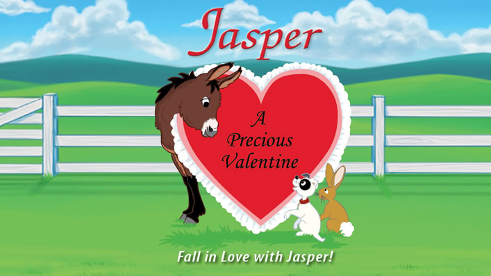 Jasper the Mule Trailer - A Precious Valentine Cover