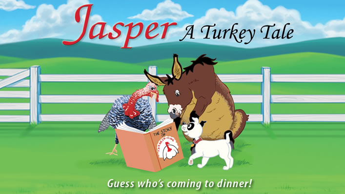 Jasper the Mule Trailer - A Turkey Tale Cover