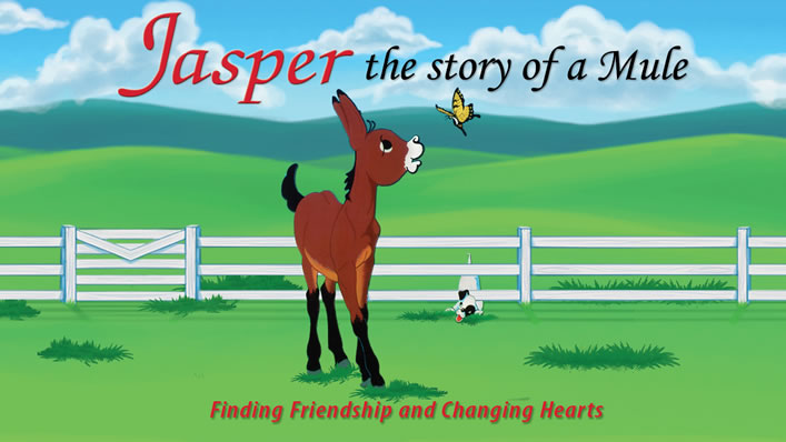 Jasper the Mule Trailer - Story of a Mule