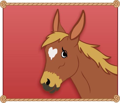 Jasper the Mule - Valentine